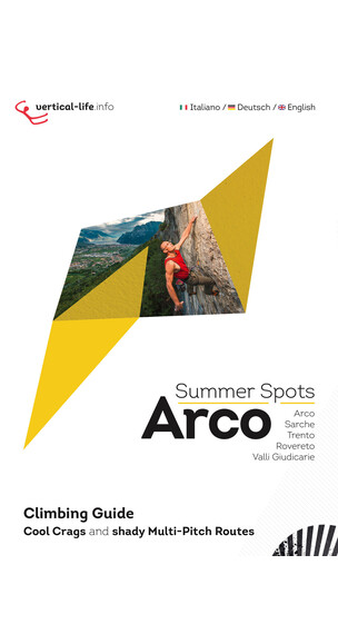 Vertical-Life Best of Arco Summer Spots boek rood/wit